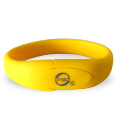 2GB Wristband Flash Drive