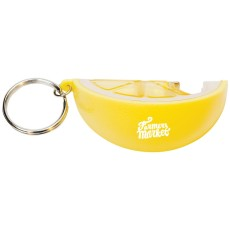 Lemon Key Chain with Bottle Opener