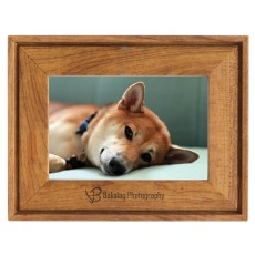 Faux Wood Photo Frame