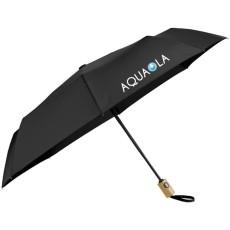 "42"" Recycled Pet Auto Open/Close Folding Umbrella"