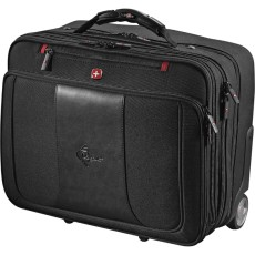 "Wenger Transit Wheeled 17"" Computer Briefcase"