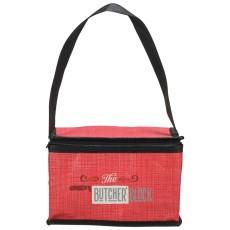 Crossweave Non-Woven Lunch Cooler Bag