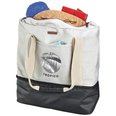 Cutter and Buck 16 oz. Cotton Boat Tote Cooler Bag