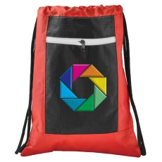 Zippered Ripstop Drawstring Sportspack
