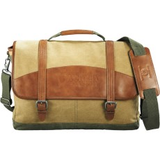 "Cutter& Buck Legacy Cotton 17"" Computer Messenger"