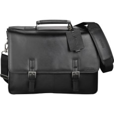 Kenneth Cole Manhattan Leather Computer Messenger