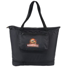 Bright Travels Foldable Zippered Tote