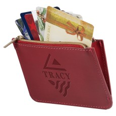 Tuscany RFID Zip Wallet Pouch