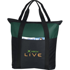 Custom Heavy Duty Zippered Business Tote Bag