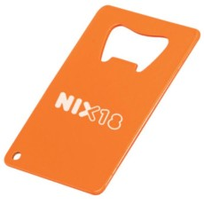 Promo Credit Card Powder Coated Bottle Opener