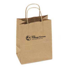 Custom Printed Shopping Bag