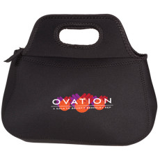 Customizable Zippered Neoprene Lunch Tote