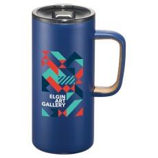 Valhalla Copper Vacuum Mug with Cork 16 oz.
