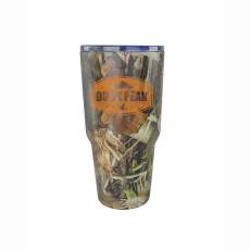 30oz. Camo Viking Double Wall Vacuum Stainless Steel Tumbler