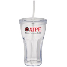 Fountain Soda 16oz. Tumbler With Straw