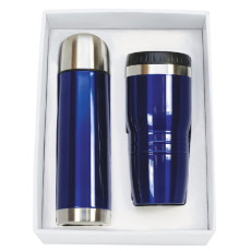Custom Logo Stainless Steel Tumbler & Thermos Set