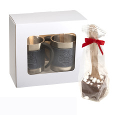Casablanca™ Coffee Cups & Hot Cocoa Gift Set