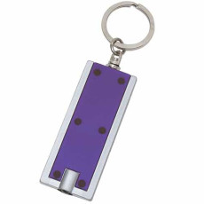 Imprintable Rectangular LED Key Chain