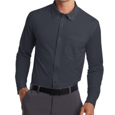 Port Authority Dimension Knit Dress Shirt (Apparel)