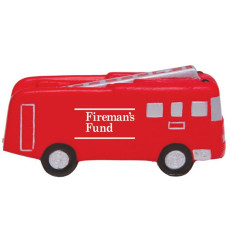 Logo Printed Fire Truck Stress Reliever