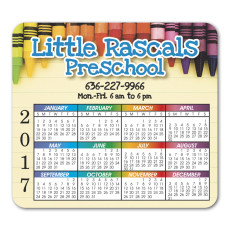 Promotional Calendar Magnet (Round Corners)