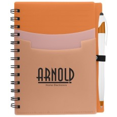 Tri-Pocket Notebook & Pen