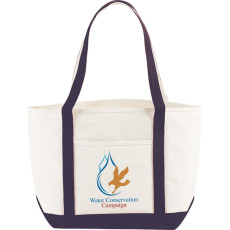Printable Atlantic Premium Cotton Boat Tote