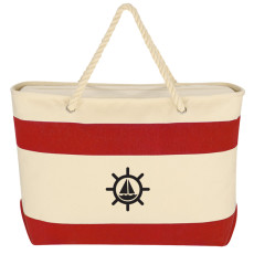 Printable Large Cruising Tote with Rope Handles