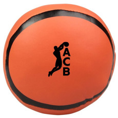 Printed Basketball Pillow Ball
