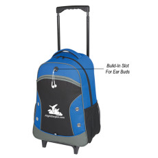 Promotional World Tour Rolling Backpack