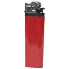 Solid Colored Standard Flint Cigarette Lighter
