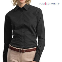Port Authority Ladies' Tonal Pattern Shirt