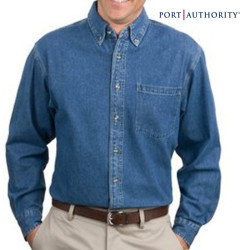 Port Authority Heavyweight Denim Shirt