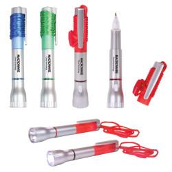 Monogrammed Pen Light with Breakaway Lanyard