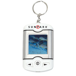 "1.5"" Promotional Digital Picture Key Chain"