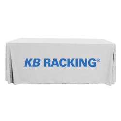 Logo Tablecloths - 6' Throw Style