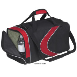 Monogrammed Sports Duffel Bag