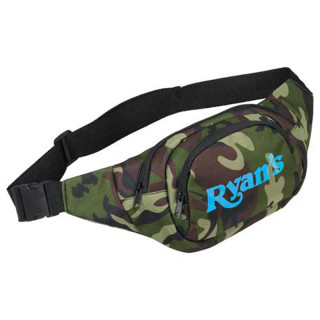Printed Camo Hunt Fanny Pack