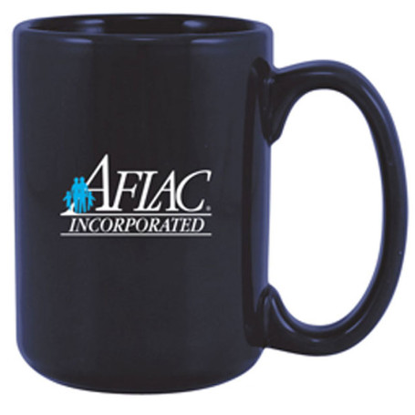 15oz Glossy Printed Logo Coffee Cup