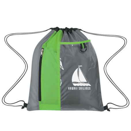 Customizable Sports Pack With Clear Pocket