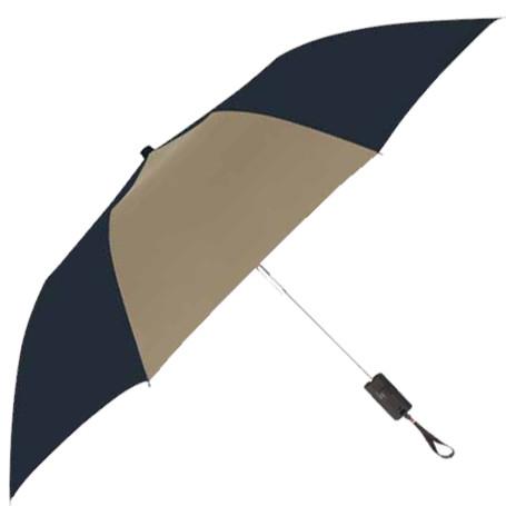 "Printed 44"" Arc Auto-Open Folding Umbrella"