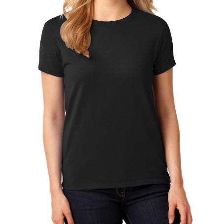 Gildan Ladies Heavy Cotton 100% Cotton T-Shirt (Apparel)