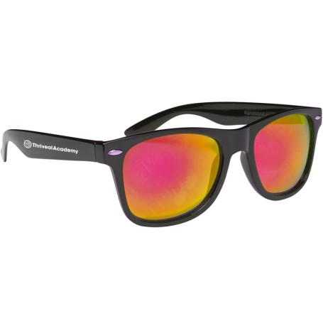 Custom Color Mirror Lens Malibu Sunglasses