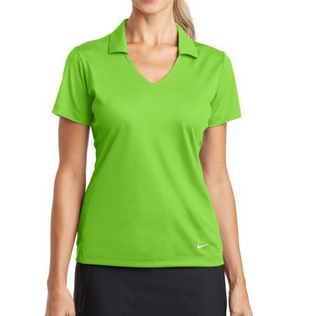 Nike Golf Ladies Dri-FIT Vertical Mesh Polo (Apparel)