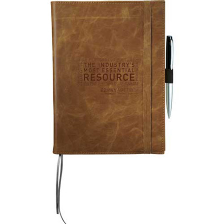 Custom Logo Field & Co.™ Cambridge Refillable Notebook