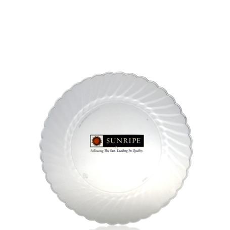 """7.5"""" Classicware Clear Plastic Plates"""