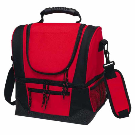 Custom Dual Compartment Kooler Bag