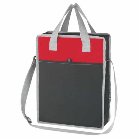 Personalized Vertical Messenger/Tote Bag