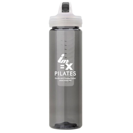 Customizable 25 oz. PET Bottle with Flip Spout and Infuser