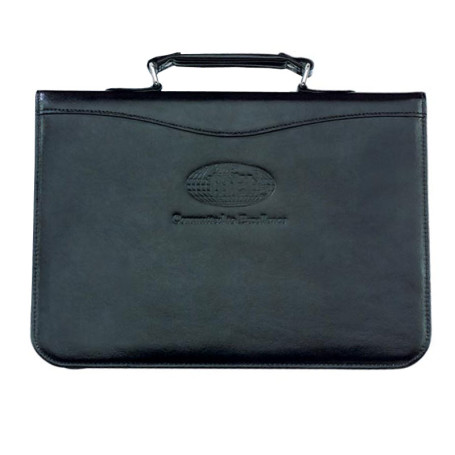 10 x 13.5 Leather Carry Portfolio